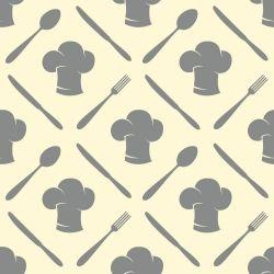 Papel de Parede Cooking Gray