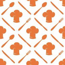 Papel de Parede Cooking Orange
