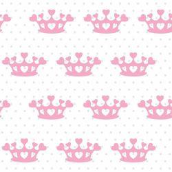 Papel de Parede Coração de Princesa Baby