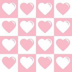 Papel de Parede Corações Cute