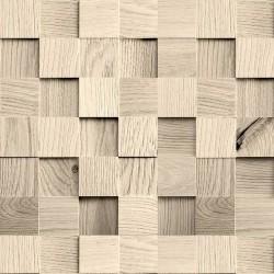 Papel de Parede Cubos de madeira