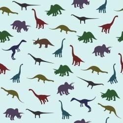 Papel de Parede Dinossauros Color