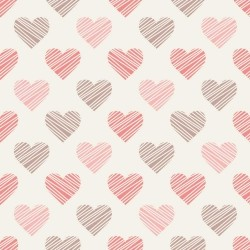 Papel de Parede Drawn hearts