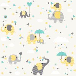 Papel de Parede Elefante