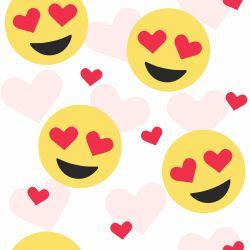 Papel de Parede Emoji Apaixonado