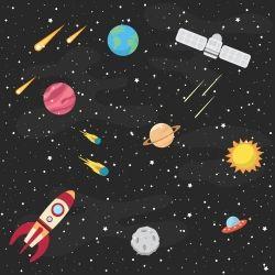 Papel de Parede Espaço Sideral