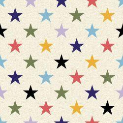 Papel de Parede Estrelas Coloridas