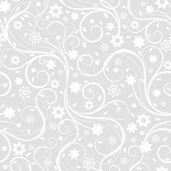 Papel de Parede Flora Gray