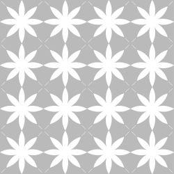 Papel de Parede Flores Vintage Gray