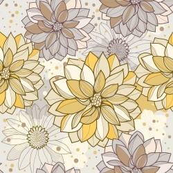 Papel de Parede Flowers Abby