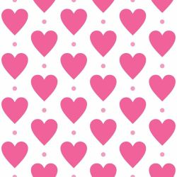 Papel de Parede Heart Point Girl