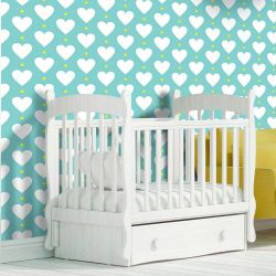 Papel de Parede Heart Point Soft