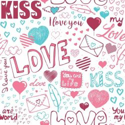 Papel de Parede I Love You Clean