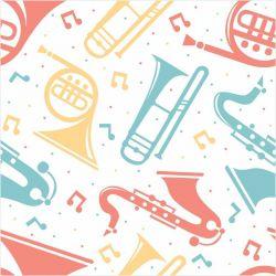 Papel de Parede Instrumentos Musicais