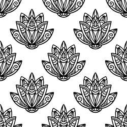 Papel de Parede Lotus Flower