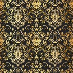 Papel de Parede Luxury Gold
