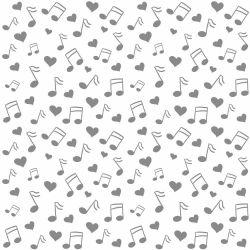 Papel de Parede Musica Clean