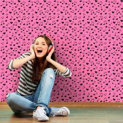 Papel de Parede Musica Pink