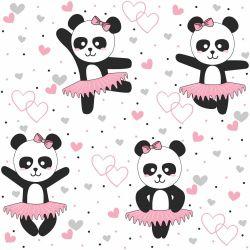 Papel de Parede Panda Ballet