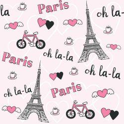 Papel de Parede Paris Oh La La