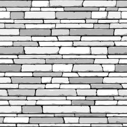 Papel de Parede Pedras Cinzas