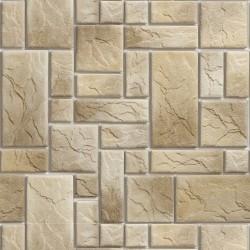 Papel de Parede Pedras fundo branco 4