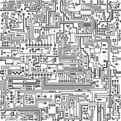 Papel de Parede Placa de circuito