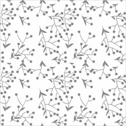 Papel de Parede Points Flowers
