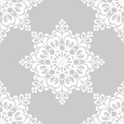 Papel de Parede Psicoflowers Gray