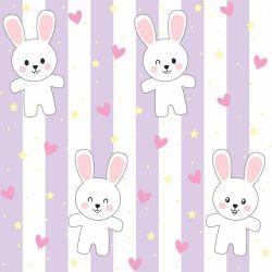 Papel de Parede Rabbit Cute