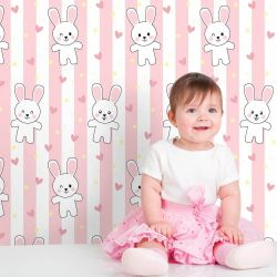 Papel de Parede Rabbit Girl