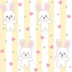 Papel de Parede Rabbit Light