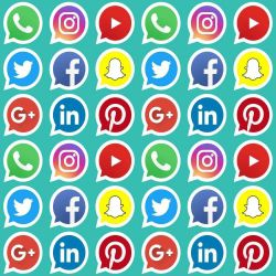 Papel de Parede Redes Sociais