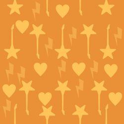 Papel de Parede Rockstar Oranje