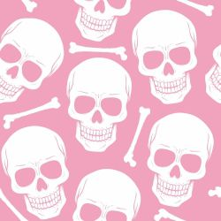 Papel de Parede Skull Girl
