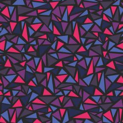 Papel de Parede Triangles Galaxy