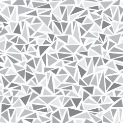 Papel de Parede Triangles Gray