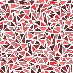 Papel de Parede Triangles Red