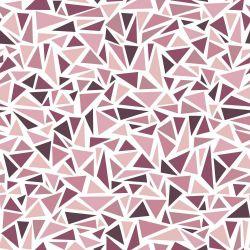 Papel de Parede Triangles Rose
