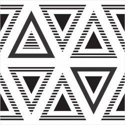 Papel de Parede Triângulos Riscados