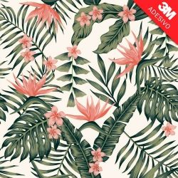 Papel de Parede Tropical Flowers Mag