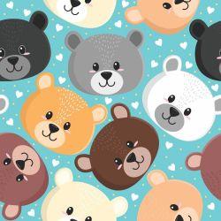 Papel de Parede Ursinhos Cute Soft