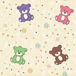 Papel de Parede Ursinhos Ted