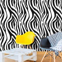 Papel de Parede Zebra Print