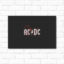 Placa Decorativa ACDC