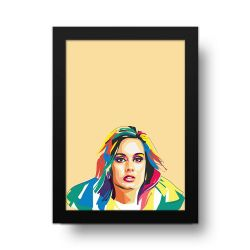 Placa Decorativa Adele Pop Art