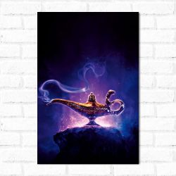 Placa Decorativa Aladdin