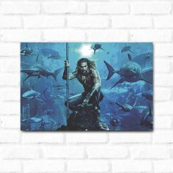 Placa Decorativa Aquaman
