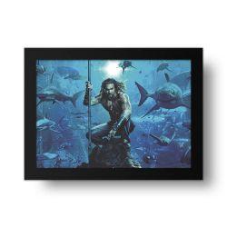 Placa Decorativa Aquaman