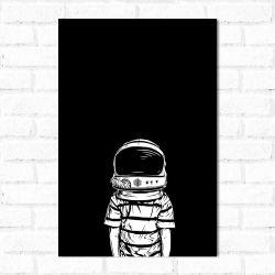 Placa Decorativa Astronauta